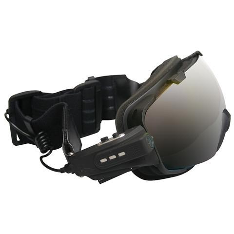 MEDIACOM Sky Mask HD Filmati Full HD + Microfono Antivento 2 Maschere Intercambiabili