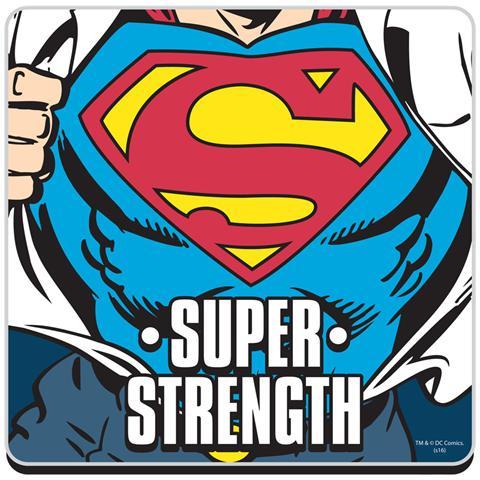 HALF MOON BAY Superman - Super Strength (Sottobicchiere)