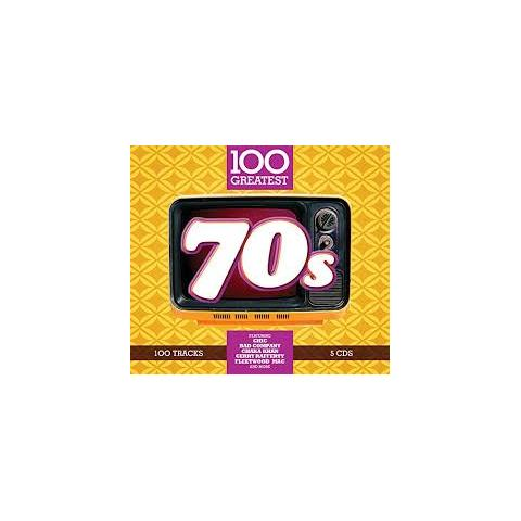 WARNER BROS 100 Greatest 70S (5 Cd)