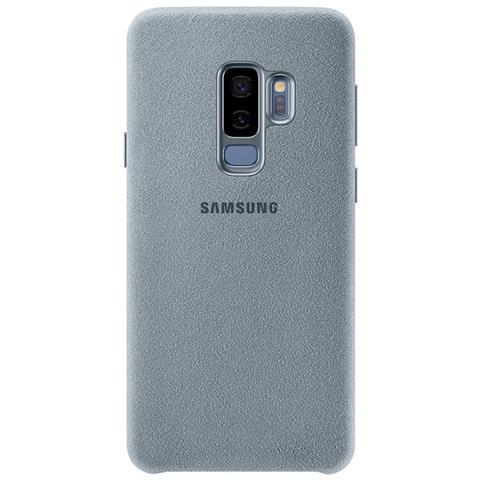 SAMSUNG Cover Alcantara per Galaxy S9+ colore Menta