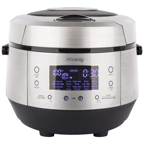 MLCOOK10 Smart'cook MultiCooker Capacità 5 Litri Potenza 860 Watt 19 Programmi Automatici