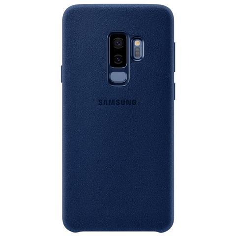 SAMSUNG Cover Alcantara per Galaxy S9+ colore Blu