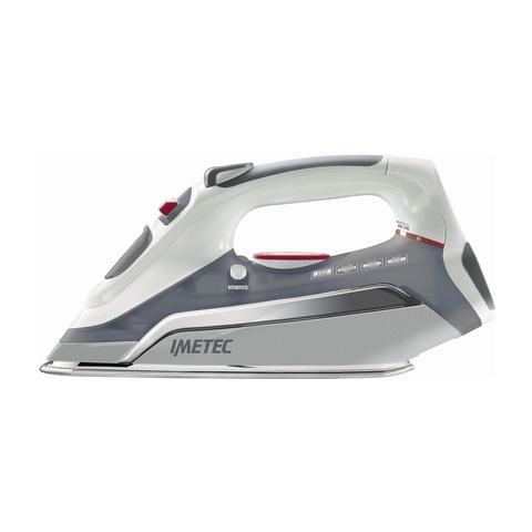 IMETEC Zerocalc Pro 2300 Ferro da Stiro a Vapore Potenza 2300 Watt Colore Grigio