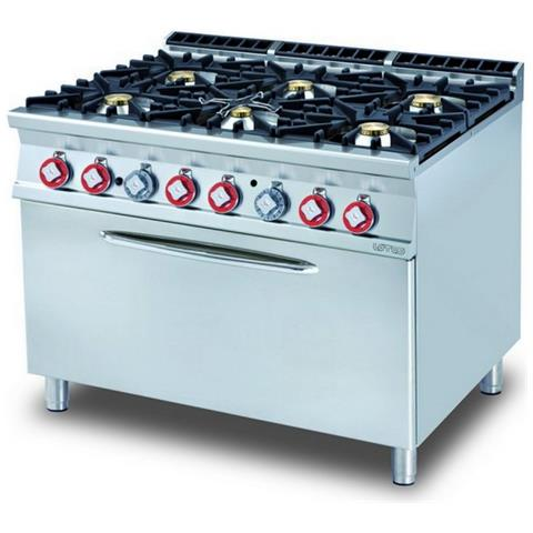 Cucina A Gas Professionale Afp / Cf6-912ge