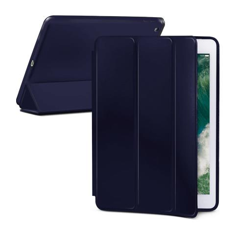 "FONEX Book Executive Touch in Silicone con Funzione Sleep e Stand per Apple iPad New 2017 9.7"" Colore Blu"