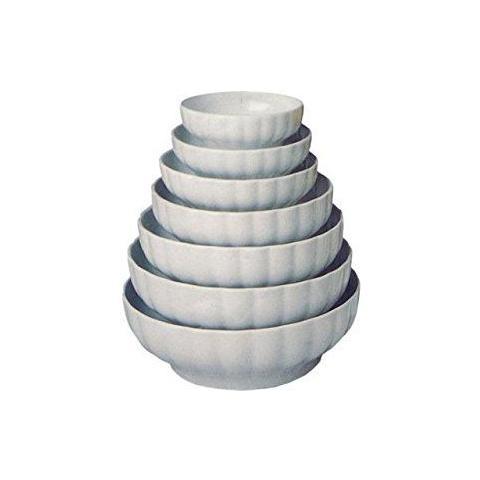 Insalatiera Costolata Bianco 17 cm