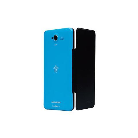 MEDIACOM Custodia Flip per PhonePad Duo G501 Colore Blu Chiaro