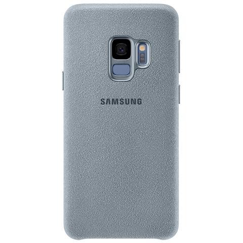 SAMSUNG Cover Alcantara per Galaxy S9 colore Menta