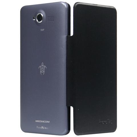 MEDIACOM Custodia Flip per PhonePad Duo G501 Colore Grigio