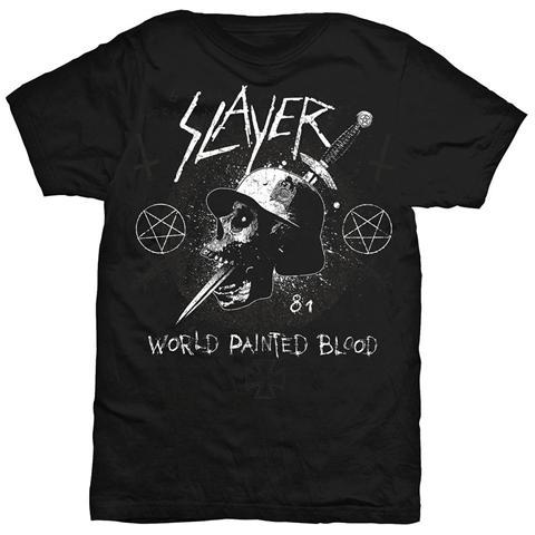ROCK OFF Slayer - Dagger Skull Black (T-Shirt Unisex Tg. M)