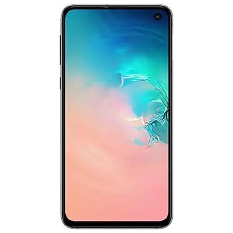 Image of Samsung Galaxy S10e Bianco 128 GB 4G / LTE Dual Sim Display 5.8'' Full HD+ Slot Micro SD Fotocamera 16 Mpx Android Europa