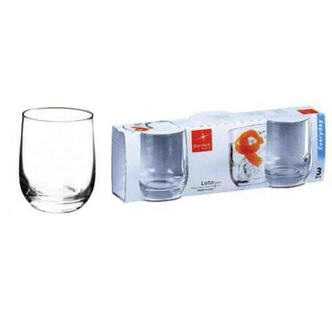 Confezione 3 Pezzi Bicchiere da Vino - Linea Loto