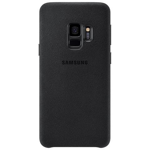 SAMSUNG Cover Alcantara per Galaxy S9 colore Nero
