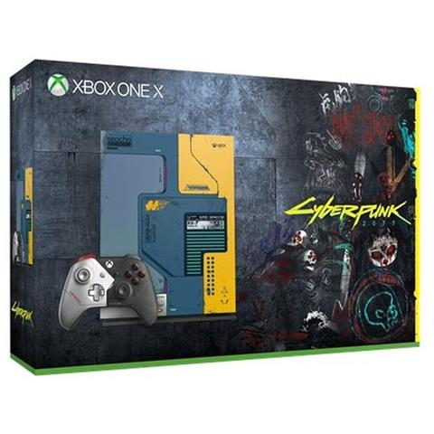 MICROSOFT Console Xbox One X 1TB Cyberpunk 2077 Limited Edition