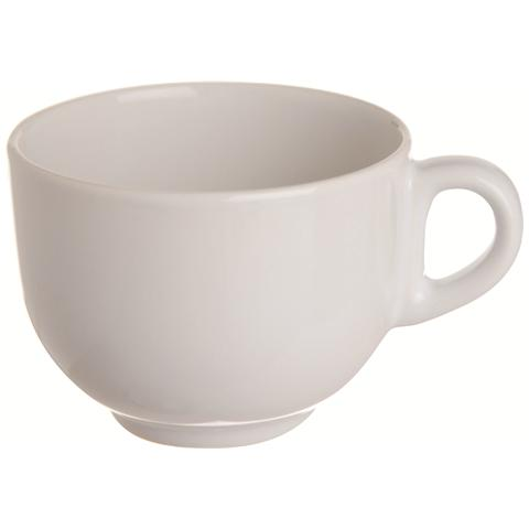 Tazza Latte Jumbo Bianca in Ceramica Trendy White