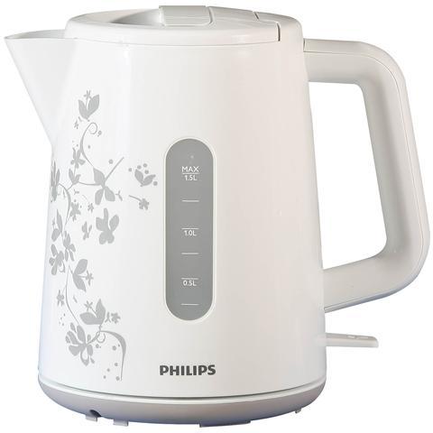 HD9300/13 Bollitore Elettrico Capacità 1.5 Litri Potenza 2400 Watt Colore Bianco e Beige