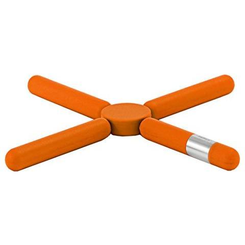 Sottopentola pieghevole, colore: Arancio