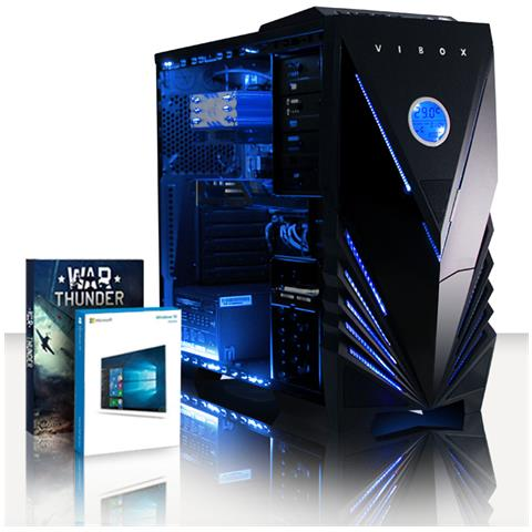 Image of Blade 9 Gamer Pc - 4,2ghz Amd Cpu 8-core, Gtx 1050, Desktop Gaming Pc Windows 10, (fx Otto-core Processore, Nvidia Geforce Gtx1050 Scheda Grafica, 8gb Memoria Team Elite Nero Ram Ddr3, 240 Gb Ssd, 3tb Hdd)