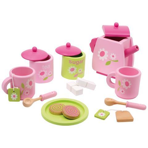 Servizio Da Tè Per Bambini Con Motivo A Fiorellini