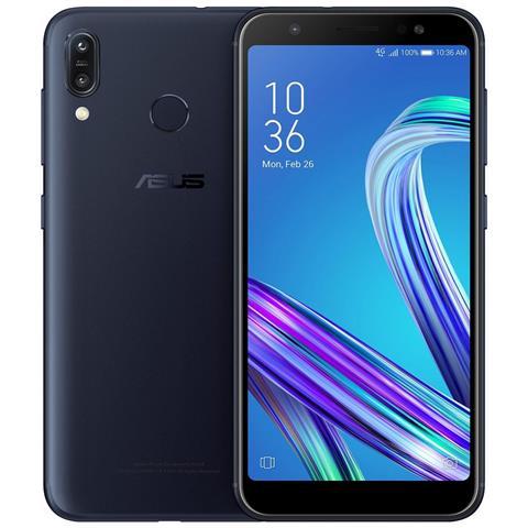 Zenfone Max M1 Blu Dual Sim Display 5.5'' HD+ Octa Core Ram 3GB Storage 32GB Wi-Fi + 4G Lte Fotocamera 13Mp Android - Italia