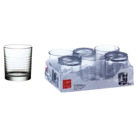 BORMIOLI Confezione 6 Pezzi Bicchieri per Acqua Capacità 24 Cl - Linea Arena