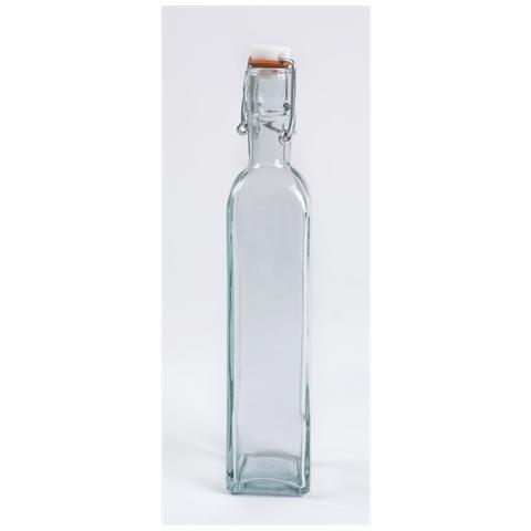 Bottiglia in Vetro con Tappo Ermetico