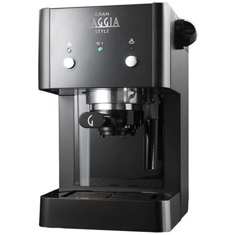GG2016 Macchina del Caffè Espresso Manuale Capacità 1 Litro Colore Nero