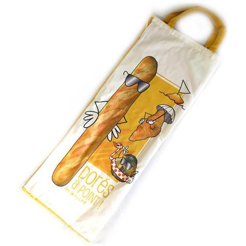 Les Trésors De Lily sacchetto del pane 'pain français' giallo beige (punto d'oro) - [ l9009]