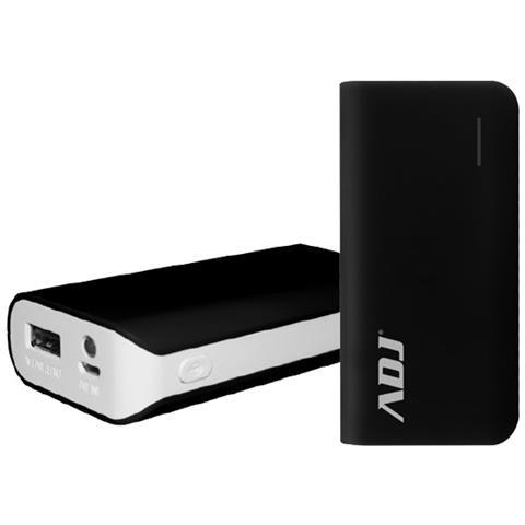 ADJ Power Bank da 5200 mAh 1 x USB / Micro-USB Colore Nero