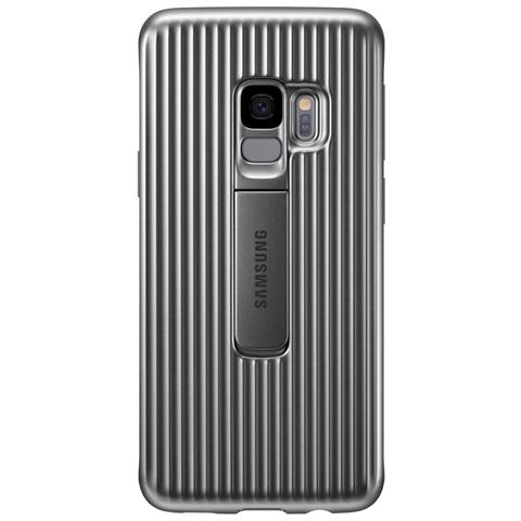 SAMSUNG Cover Protective Standing per Galaxy S9 colore Argento