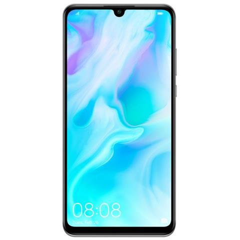 Image of Huawei P30 Lite Bianco 128 GB 4G / LTE Dual Sim Display 6.21'' Full HD+ Slot Micro SD Fotocamera 48 Mpx Android Italia