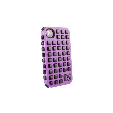 G-FORM Iphone Square - Purple Shell Black Rpt It
