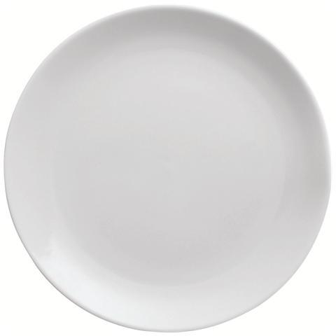 EXCELSA Piatto Piano Bianco in Ceramica Trendy White 26,0 cm