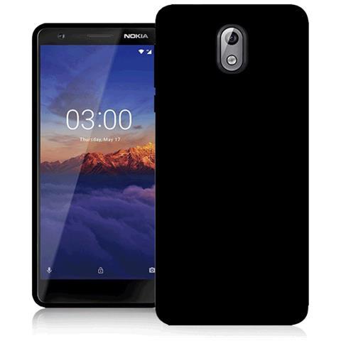 FONEX Cover in TPU per Nokia 3.1 Colore Nero