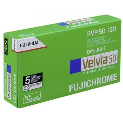 1x5 Fujifilm Velvia 50 120 nuovo