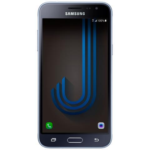 "SAMSUNG Galaxy J3 (2016) Nero 8 GB 4G / LTE Display 5"" HD Slot Micro SD Fotocamera 8 Mpx Android Italia"