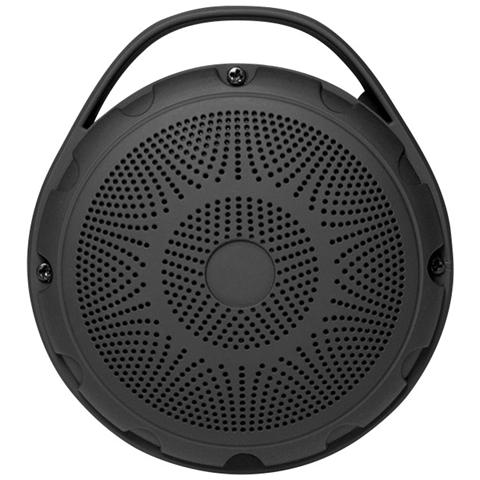 LOGILINK ICC SP-BLT50 - Speaker Portatile Bluetooth con Radio e Lettore MP3 Nero