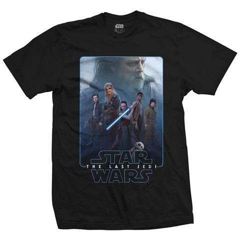 ROCK OFF Star Wars Episode Viii - The Force Composite (T-Shirt Unisex Tg. L)