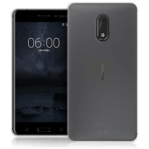 FONEX Cover in TPU per Nokia 6 Colore Trasparent