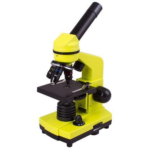 Microscopio Levenhuk Rainbow 2l, Verde Limetta