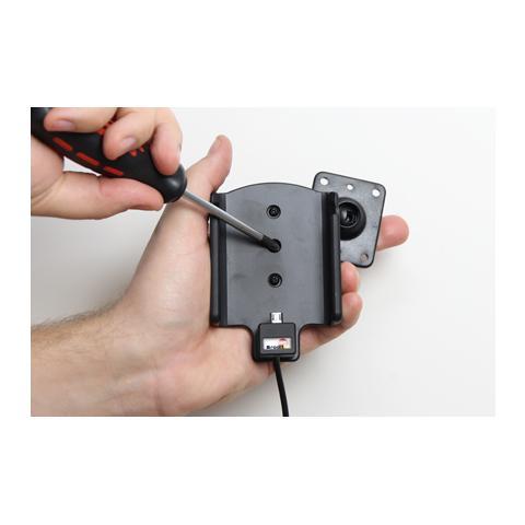 BRODIT 513715 Auto Active holder Grigio supporto per personal communication