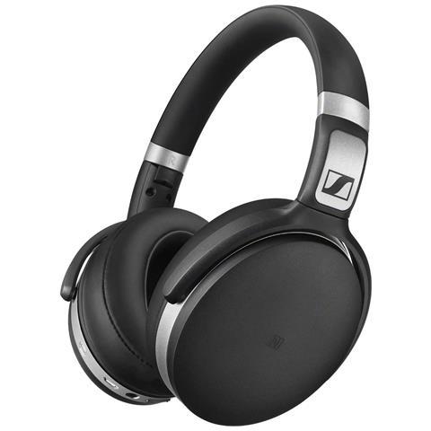 SENNHEISER HD 4.50 BTNC Wireless Padiglione auricolare Stereofonico Cablato / NFC (Comunicazione in prossimità) / Bluetooth Nero, Argento auricolare per telefono cellulare