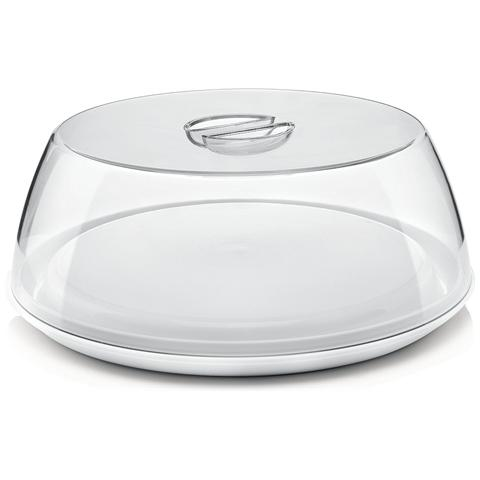 Piatto Torta Bianco Diametro 33.5 cm
