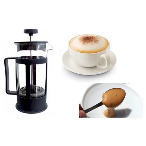 Tisaniera In Vetro Bicchiere Con Filtro Tisane Infusi 300 Ml Caffe Latte Tisana