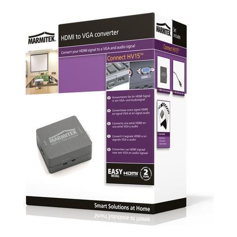 MARMITEK HV15, 0 - 70 °C, 10 - 85%, Nero, Mini-USB