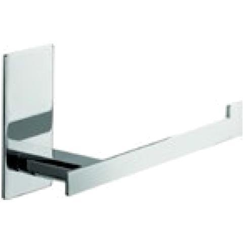 Aquasanit Porta Rotolo Aperto, Fissaggio Ad Incollo O Con Viti - Serie Flat