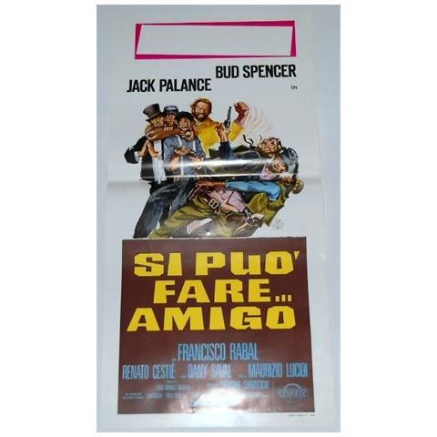 Vendilosubito Locandina Originale Del Film Si Puo Fare Amigo 1972