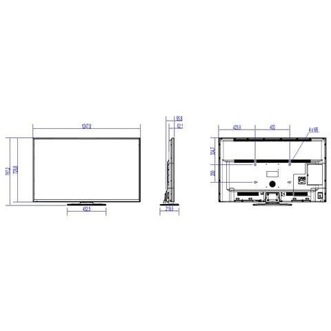 Image of 55IN 55HFL2879T LEDTV 5MS 4K 16:9 3840X2160 4000:1 DVI HDMI IN