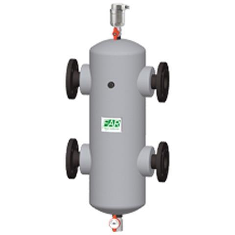 Separatore Idraulico Dn65 Completo Di Gusci Anticondensa 2164 65