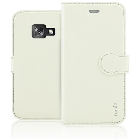 FONEX Custodia per Samsung Galaxy A3 (7) Colore Sabbia Bianca